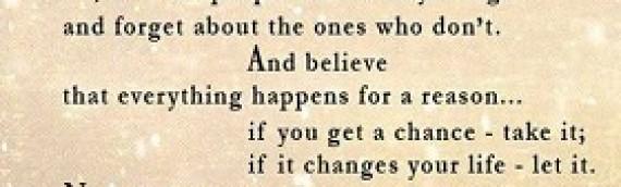 Love,Chance and Change