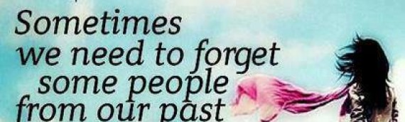 Don't Stress Over People In Your Past