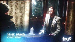 jesse bravo psychic in nyc service tru tv