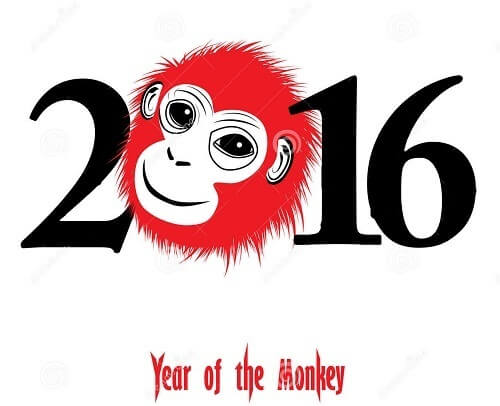 happy chinese new year year of the monkey - Chinese New Year Year Of The Monkey